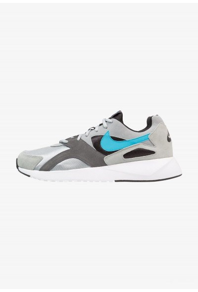 Nike PANTHEOS - Baskets basses light pumice/light blue fury/dark grey/black/white