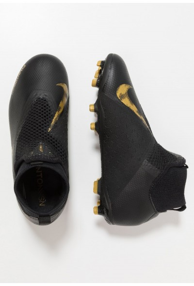 Nike Chaussures de foot à crampons black/metalic vivid gold