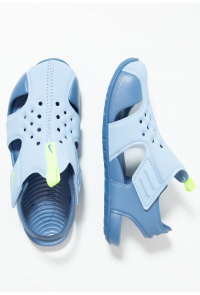 Black Friday 2019 - Nike SUNRAY PROTECT 2 - Sandales de bain aluminum/volt/indigo storm