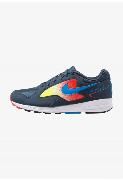 Nike AIR SKYLON II - Baskets basses armory navy/photo blue/habanero red/opti yellow/white/black