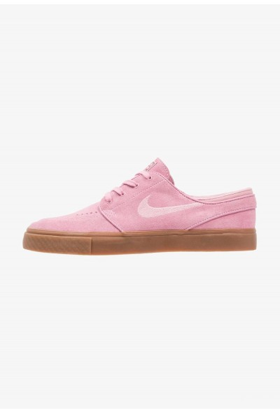 Nike ZOOM STEFAN JANOSKI - Baskets basses pink/sequoia/dark brown/medium brown/light brown