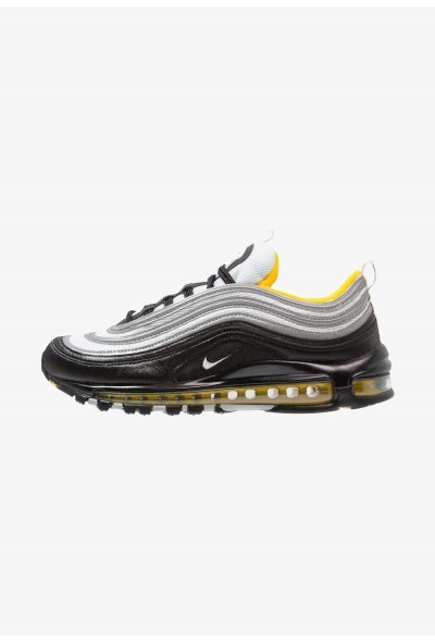 Nike AIR MAX 97 - Baskets basses black/white/amarillo