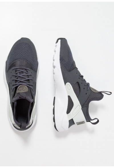 Nike AIR HUARACHE RUN ULTRA  - Baskets basses anthracite/metallic pewter/spruce aura/black