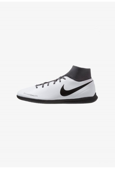 Nike PHANTOM OBRAX 3 CLUB DF IC - Chaussures de foot en salle wolf grey/black/light crimson