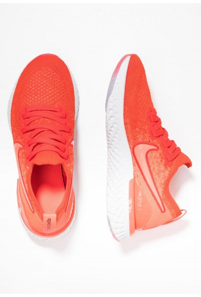 Nike EPIC REACT FLYKNIT 2 - Chaussures de running neutres chile red/bright crimson/vast grey/black