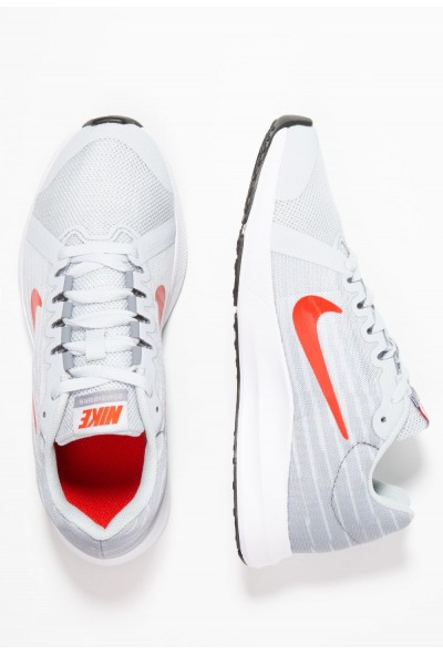 Nike DOWNSHIFTER  - Chaussures de running neutres pure platinum/habanero red/black