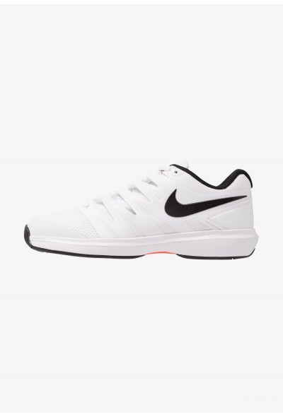 Nike AIR ZOOM PRESTIGE HC - Baskets tout terrain white/black/bright crimson