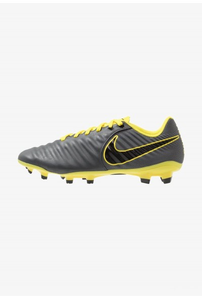 Nike LEGEND 7 ACADEMY FG - Chaussures de foot à crampons dark grey/black/opti yellow