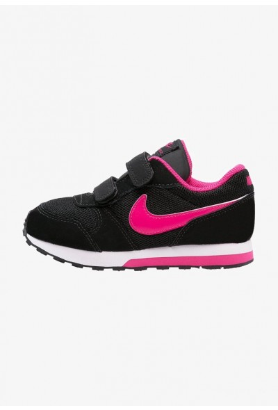 Nike MD RUNNER 2  - Chaussures premiers pas black/vivid pink/white