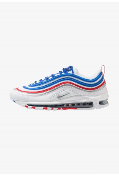 Nike AIR MAX 97 - Baskets basses game royal/metallic silver/university red