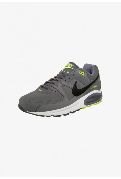 Nike AIR MAX COMMAND - Baskets basses cool grey/black/volt