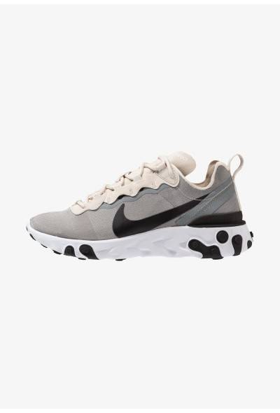 Nike REACT 55 - Baskets basses light orewood brown/golden beige/white/black/yellow