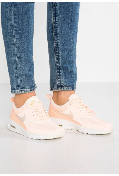 Black Friday 2019 - Nike AIR MAX THEA - Baskets basses crimson tint/pale ivory/celery/summit white