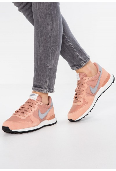 Nike INTERNATIONALIST - Baskets basses rose gold/wolf grey/summit white/black
