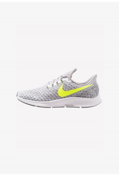 Nike AIR ZOOM PEGASUS 35 - Chaussures de running neutres white/volt/gunsmoke/atmosphere grey