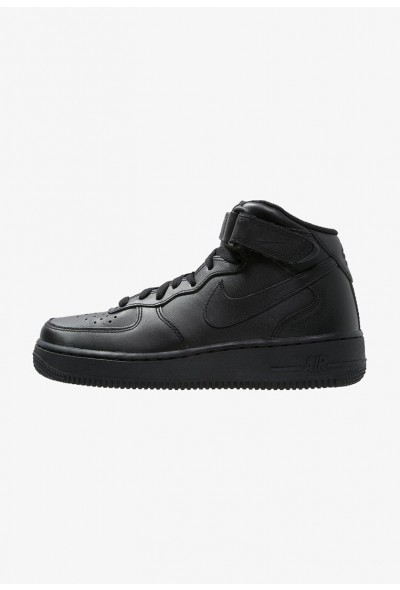 Nike AIR FORCE 1 MID '07 - Baskets montantes black