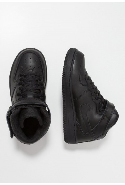 Nike AIR FORCE 1 MID - Baskets montantes black