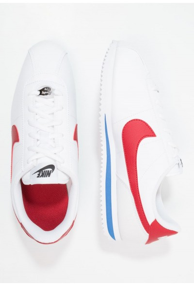 Nike CORTEZ BASIC  - Baskets basses white / varsity red