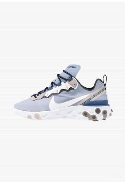 Nike REACT 55 - Baskets basses indigo fog/white/mystic navy/half blue/atmosphere grey/black