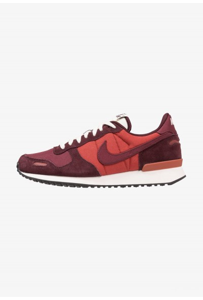 Nike AIR VORTEX - Baskets basses mars stone/deep burgundy/sail/black