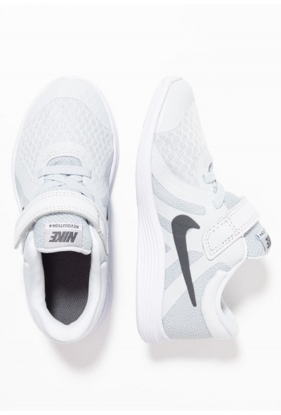 Nike REVOLUTION 4 - Chaussures de running neutres pure platinum/dark grey/wolf grey/white