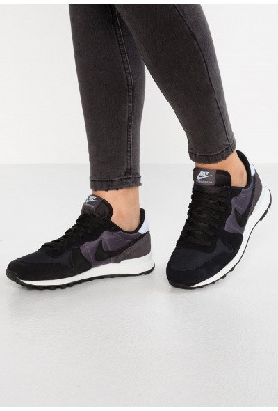 Nike INTERNATIONALIST - Baskets basses black/thunder grey/half blue/summit white