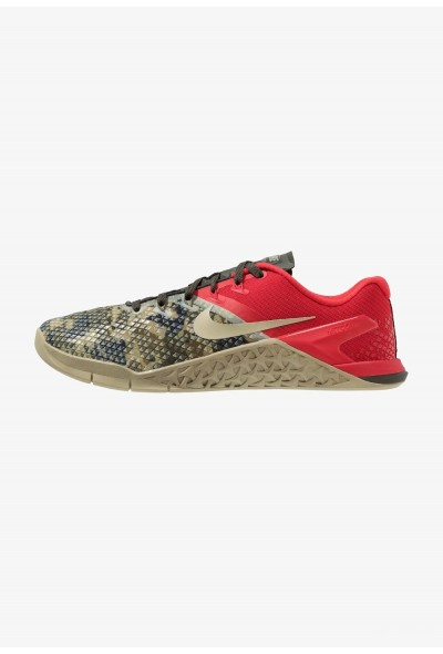 Nike METCON 4 XD - Chaussures d'entraînement et de fitness sequoia/university red/neutral olive