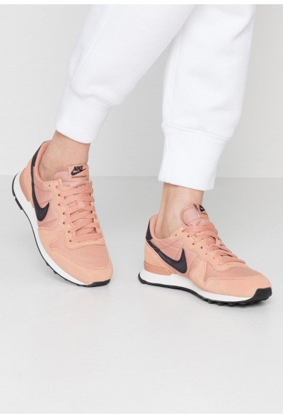 Nike INTERNATIONALIST - Baskets basses rose gold/oil grey/summit white