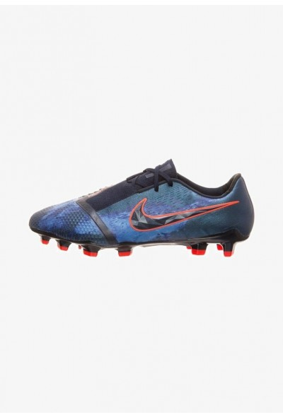 Nike PHANTOM ELITE FG - Chaussures de foot à crampons obsidian/white