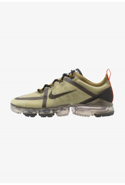 Black Friday 2019 - Nike AIR VAPORMAX 2019 - Chaussures de running neutres olive flak/black/medium olive/team orange