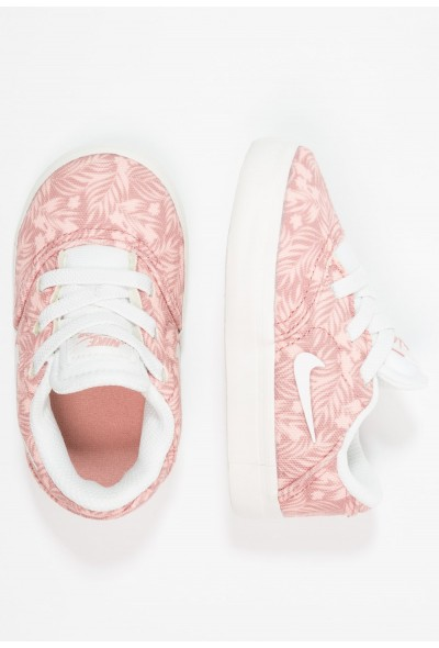 Nike CHECK - Mocassins rust pink/summit white/bleached coral