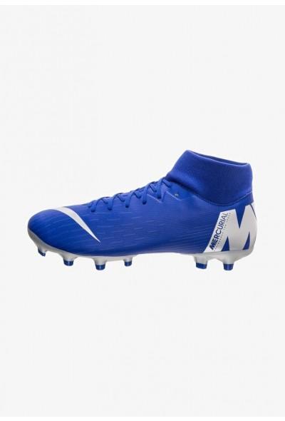 Nike MERCURIAL 6 ACADEMY MG - Chaussures de foot à crampons blue