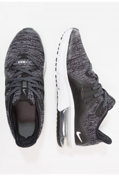 Nike AIR MAX SEQUENT 3 - Chaussures de running neutres black/dark grey/white/metallic hematite