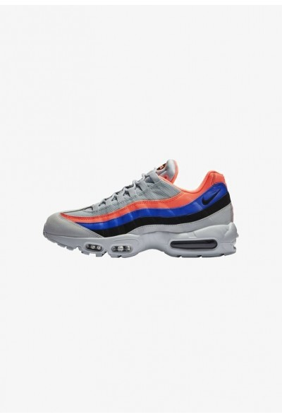 Nike AIR MAX 95 ESSENTIAL - Baskets basses pure platinum/bright mango/racer blue/black