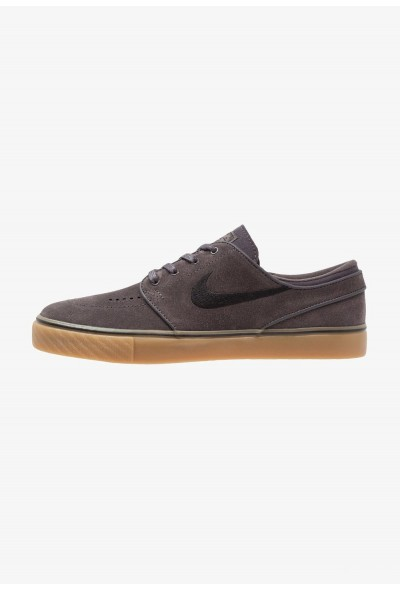 Nike ZOOM STEFAN JANOSKI - Baskets basses thunder grey/black/light brown