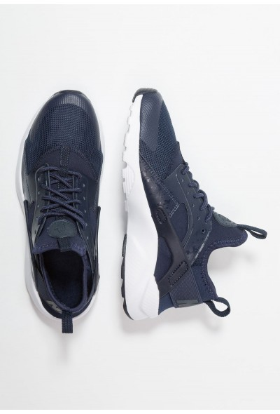 Nike AIR HUARACHE RUN ULTRA - Baskets basses obsidian/white