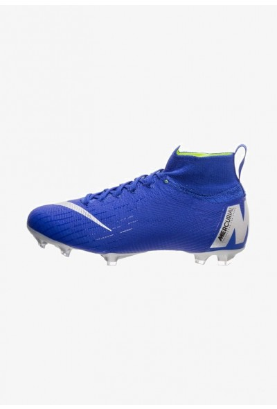 Nike Chaussures de foot à crampons blue/silver