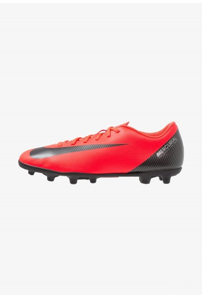 Nike VAPOR 12 CLUB CR7 MG - Chaussures de foot à crampons bright crimson/black/chrome