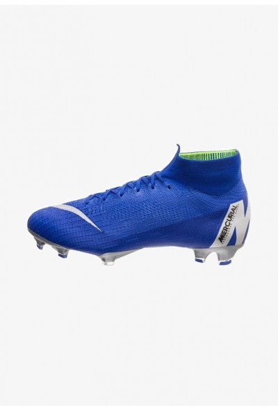 Nike MERCURIAL ELITE - Chaussures de foot à crampons racer blue/metallic silver/black