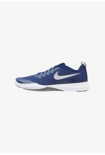 Black Friday 2019 - Nike LEGEND TRAINER - Chaussures d'entraînement et de fitness blue void/metallic silver/cool grey
