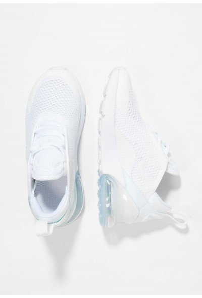 Nike AIR MAX 270 - Baskets basses white/mtlc silver