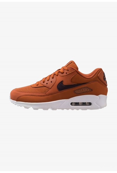 Nike AIR MAX 90 ESSENTIAL - Baskets basses dark russet/burgundy ash/white