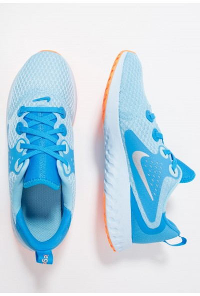 Nike LEGEND REACT - Chaussures de running neutres - blue chill/metallic silver-blue hero blue chill/metallic silver-blue hero-cobalt tint/orange pulse