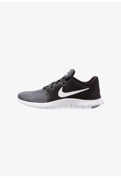 Nike FLEX CONTACT 2 - Chaussures de running compétition black/white/cool grey/anthracite
