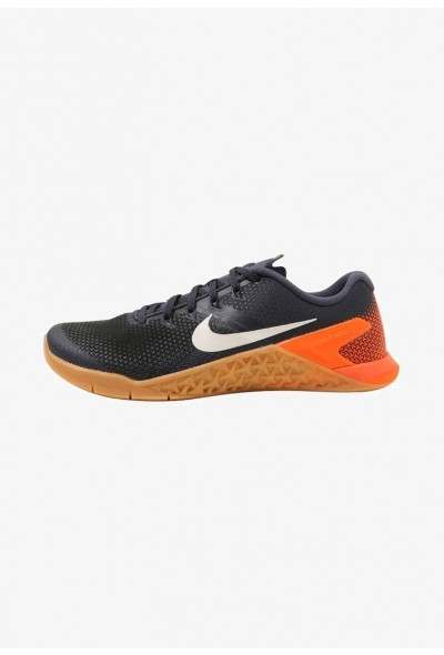 Nike METCON 4 - Chaussures d'entraînement et de fitness thunder blue/white/black/hyper crimson/gum med brown