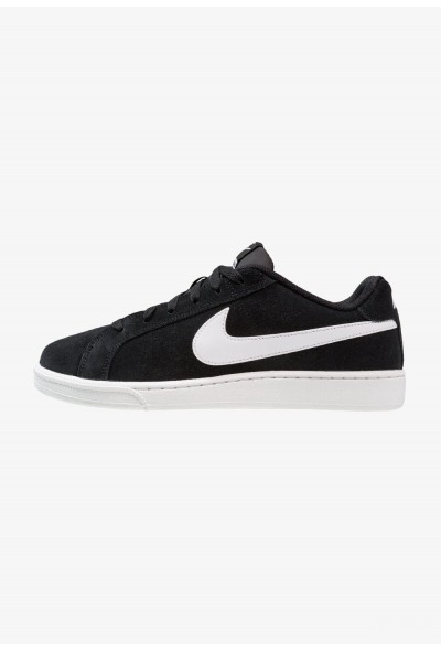 Nike COURT ROYALE SUEDE - Baskets basses black/white