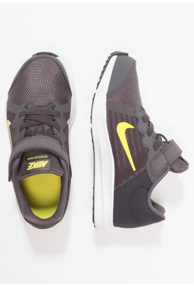 Nike DOWNSHIFTER 8 - Chaussures de running neutres - thunder grey/dynamic yellow thunder grey/dynamic yellow-oil grey