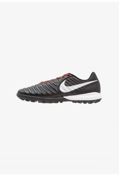 Nike TIEMPO LUNAR LEGENDX 7 PRO TF - Chaussures de foot multicrampons black/pure platinum/light crimson
