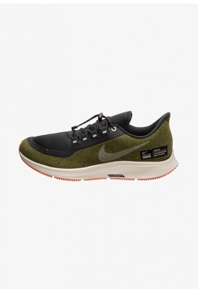 Nike AIR ZOOM PEGASUS 35 SHIELD - Chaussures de running neutres olive