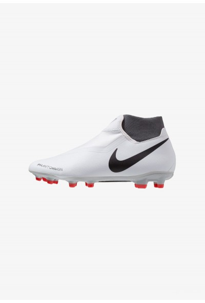 Nike PHANTOM OBRA 3 ACADEMY DF MG - Chaussures de foot à crampons wolf grey/metallic dark grey/dark grey/light crimson/pure platinum